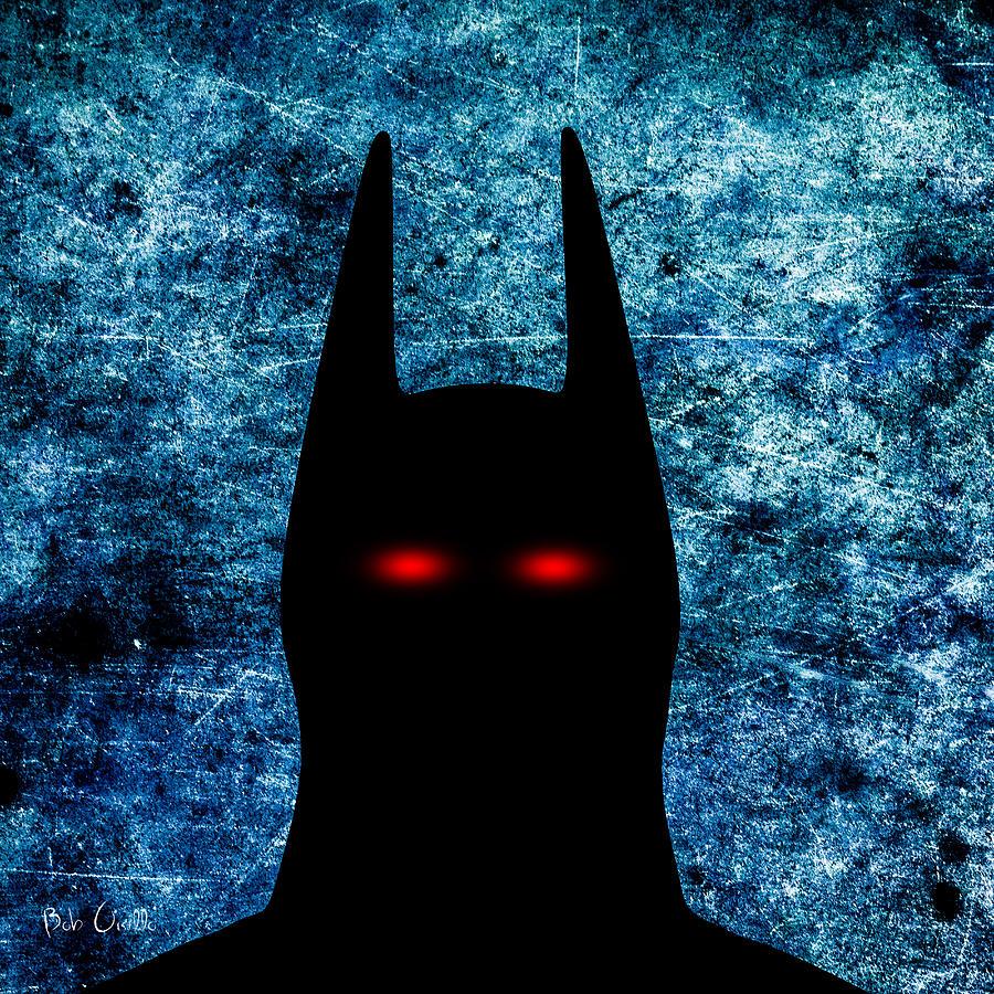 Batman - Dark Knight Number 1 Digital Art
