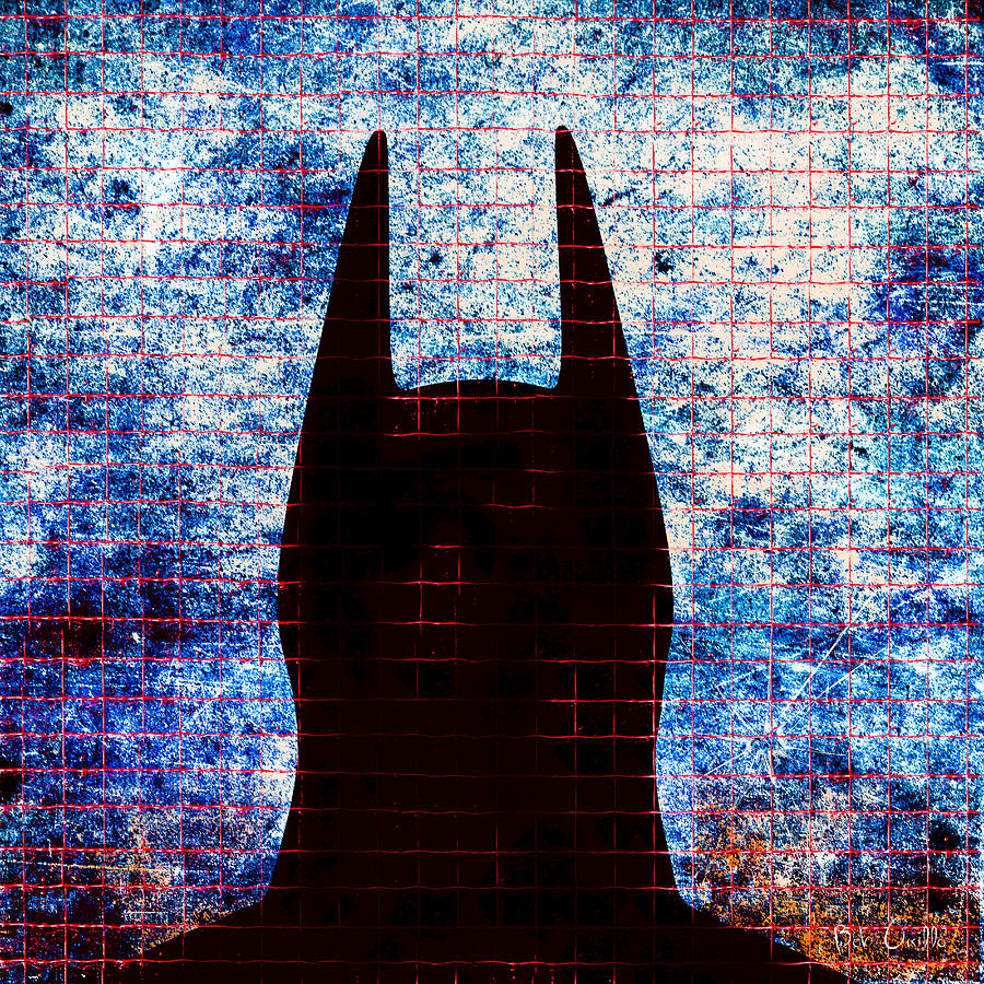 Batman - Dark Knight Number 3 Digital Art