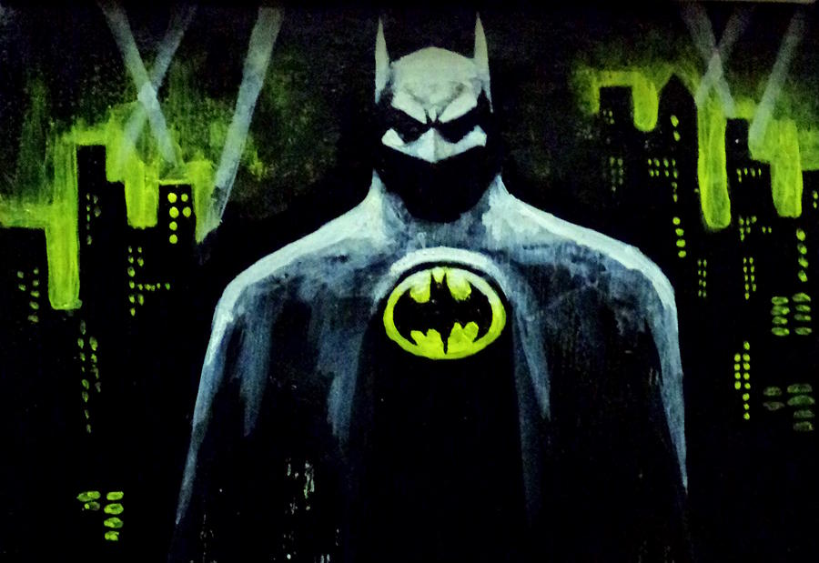 Batman Painting  - Batman Fine Art Print