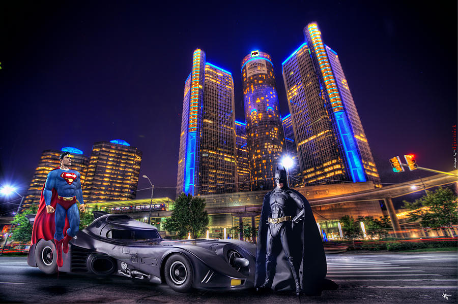 Batman Superman Photograph