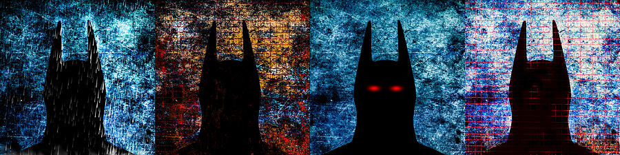 Batman - The Dark Knight Digital Art  - Batman - The Dark Knight Fine Art Print