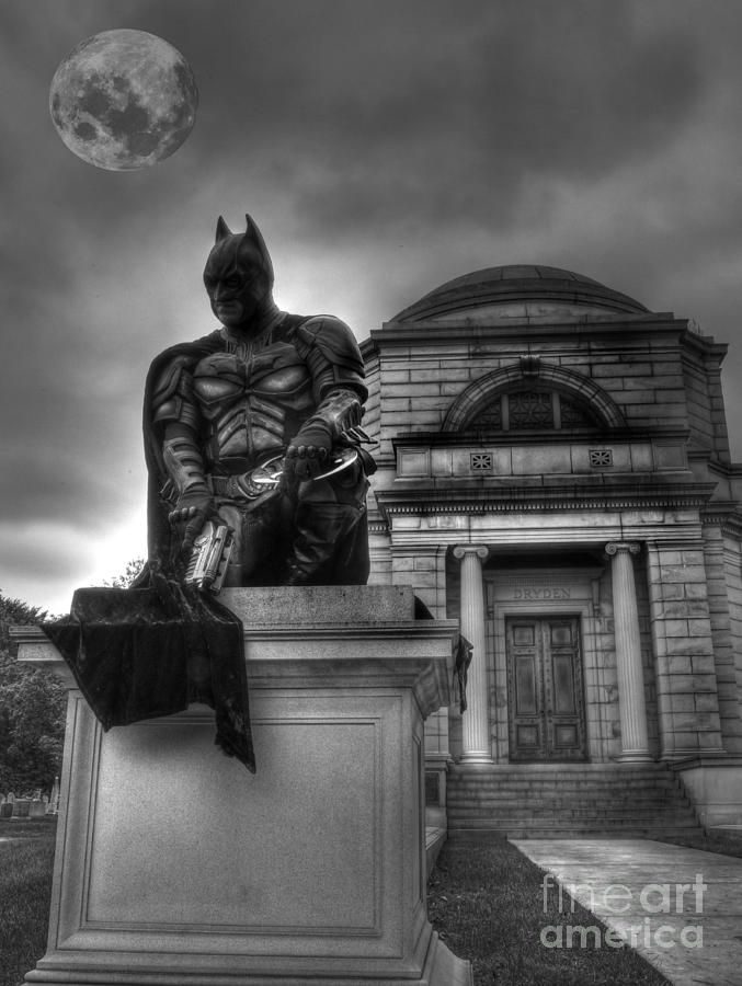 Batman - The Dark Night Forever Lost Photograph  - Batman - The Dark Night Forever Lost Fine Art Print