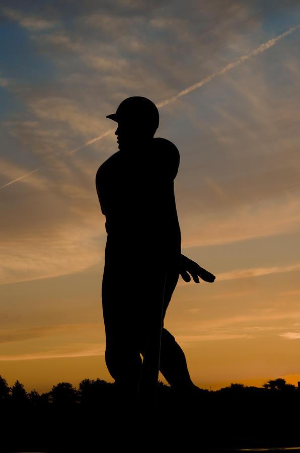 Batter At Dawn - Phillies Photograph