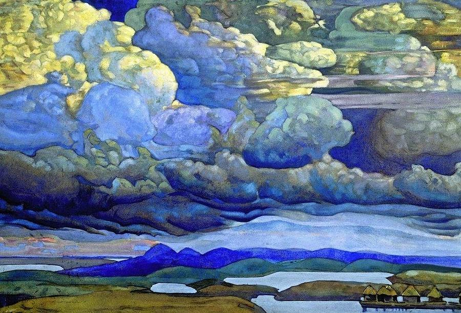 Tintin Hp Lovecraft also Costumes Of The Ballets Russes additionally Morning Star 1932 together with Battle In The Heavens Nicholas Roerich as well Religion and spirituality. on art of nicholas roerich