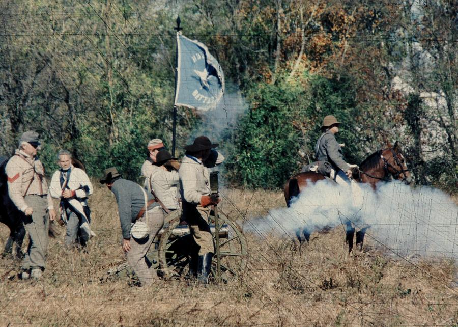 Battle Of Franklin - 3 Photograph