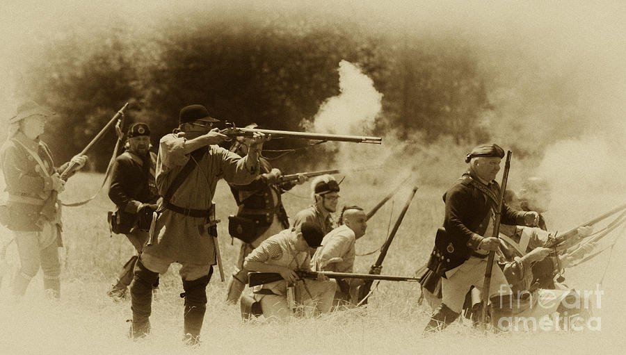 Battle Photograph - Battle Of Wyoming by Jim Cook