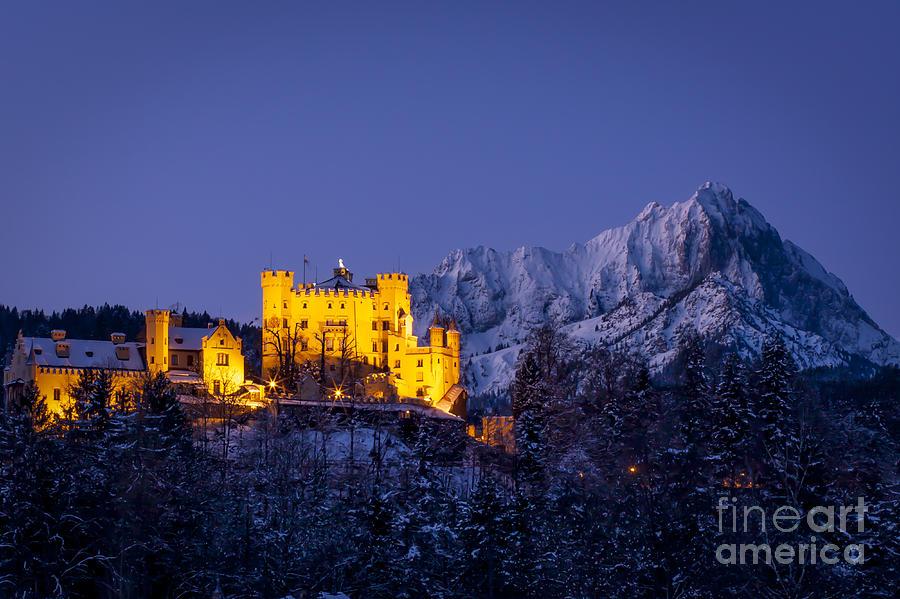 Hohenschwangau Photograph - Bavarian Castle by Brian Jannsen