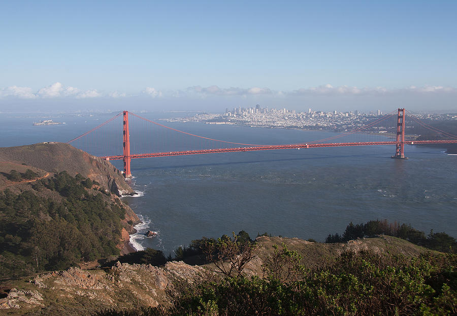 San Francisco Photograph - Bay From Marin by Alison Miles