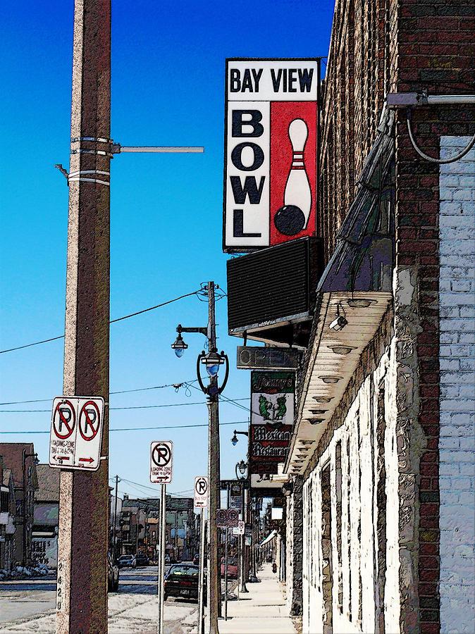 Bay View Bowl Digital Art