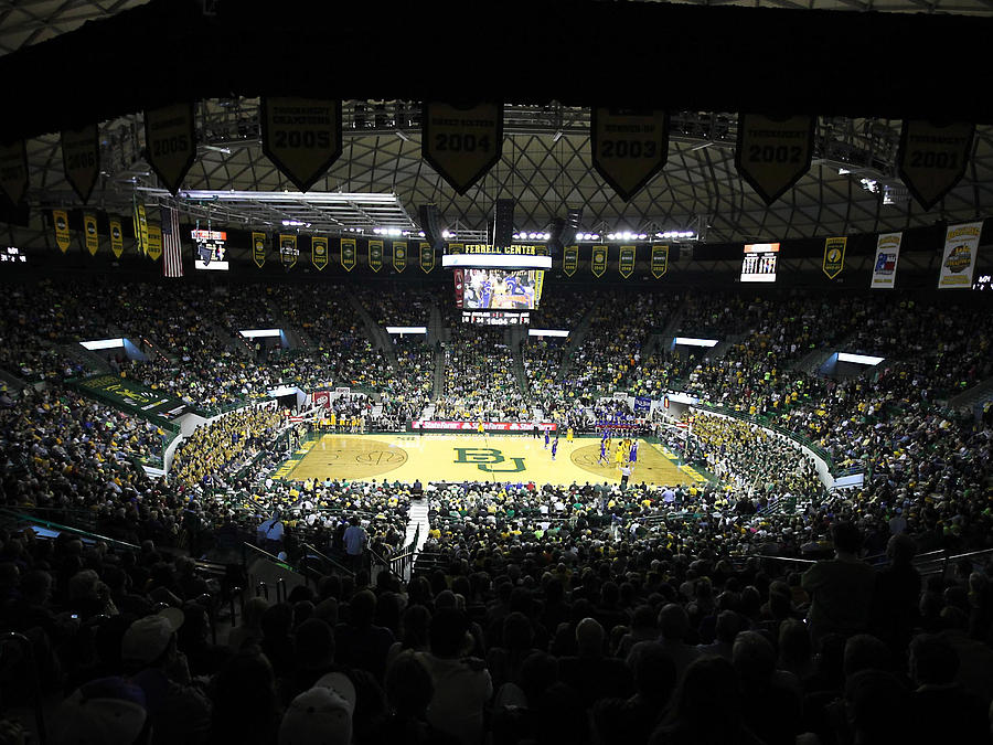 Baylor Bears Sellout Ferrell Center Photograph  - Baylor Bears Sellout Ferrell Center Fine Art Print