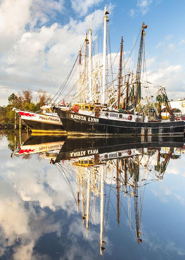 Bayou Labatre Shrimp Boat Reflections 35 Photograph