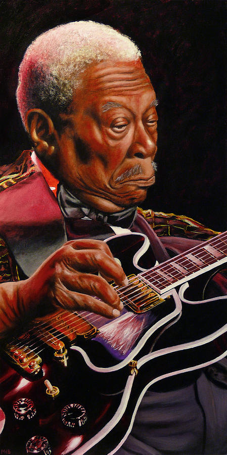 Bb King Painting  - Bb King Fine Art Print