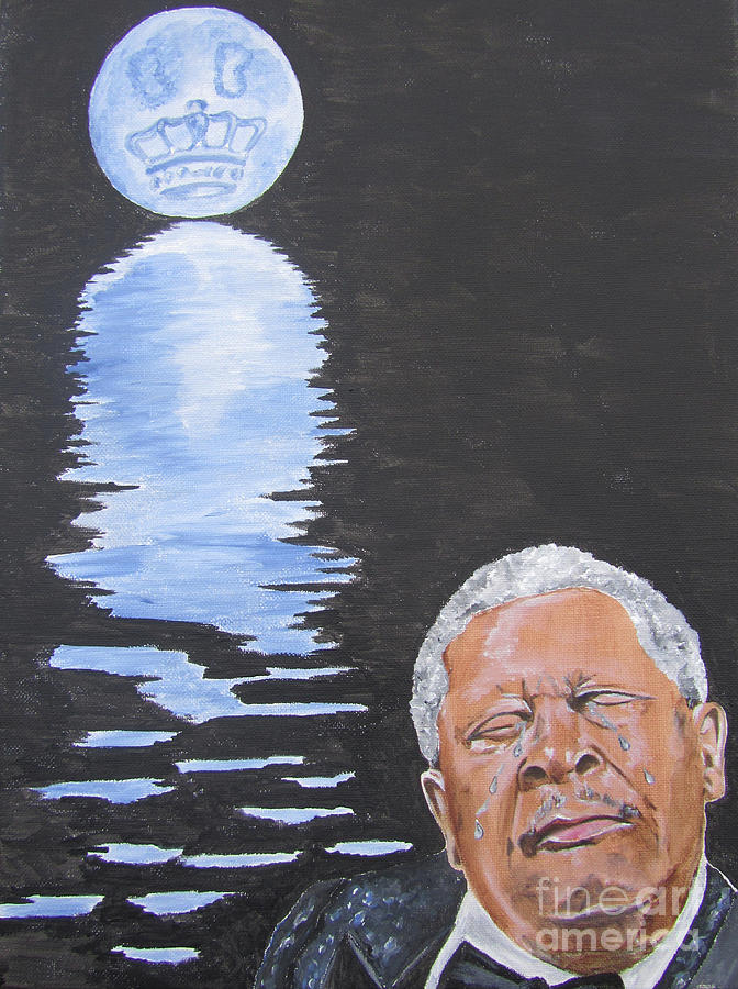 Bb King Painting Painting
