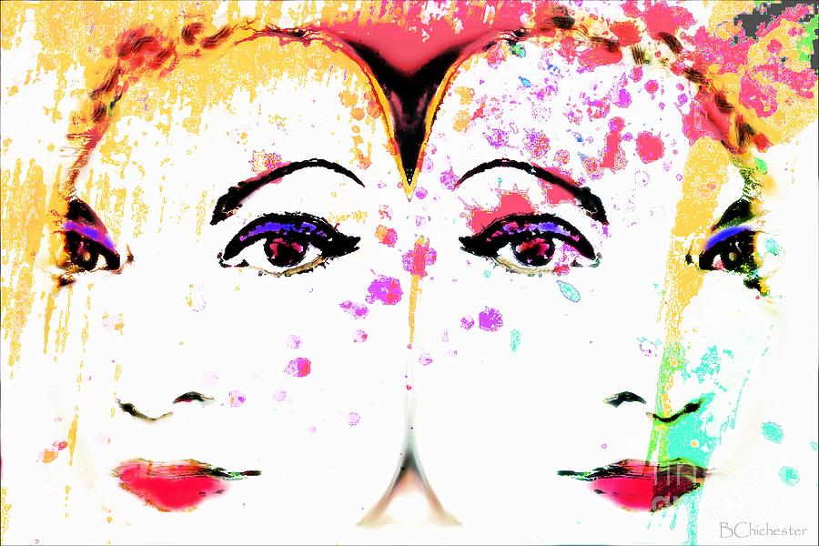 Bchichester Digiart Designs Two Women Painting