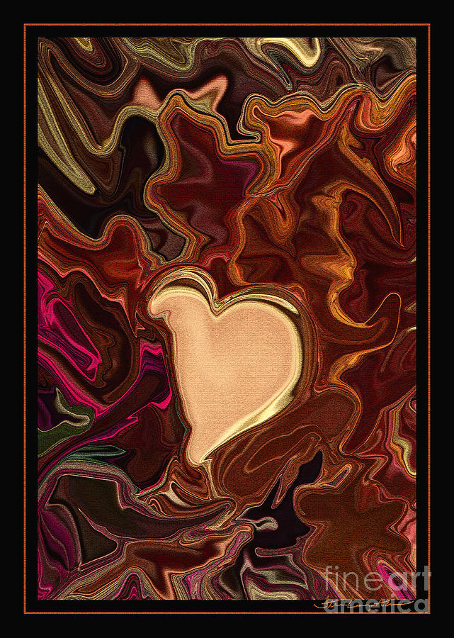 Be Mine By Steven Langston Digital Art  - Be Mine By Steven Langston Fine Art Print