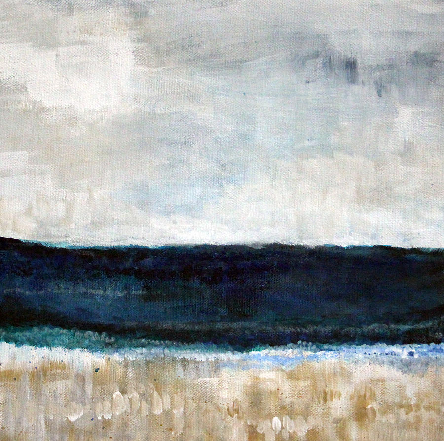 Beach- Abstract Painting Painting
