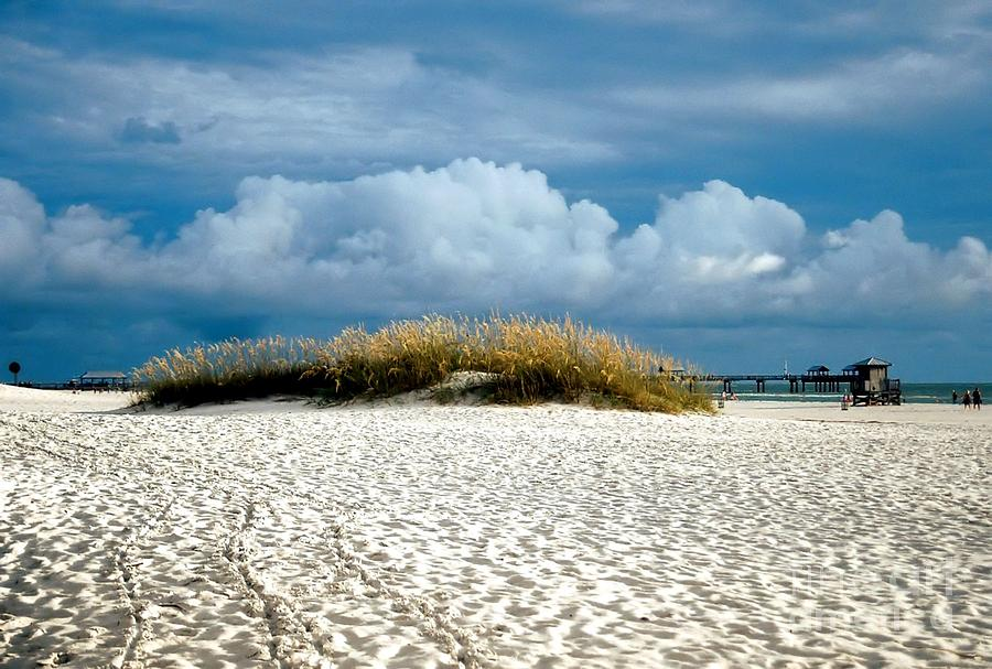 Beach Afternoon At Clearwater Photograph