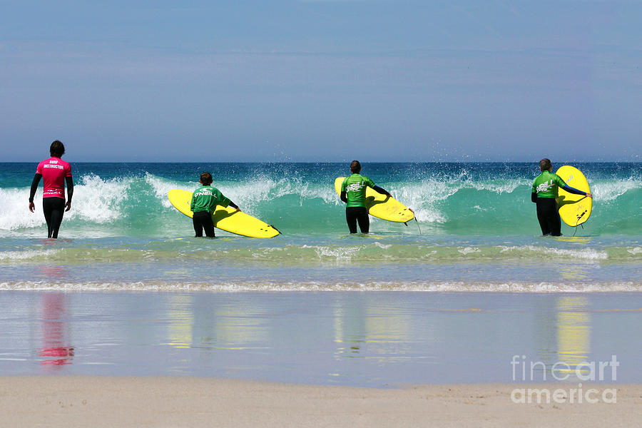 Beach Boys Go Surfing Photograph  - Beach Boys Go Surfing Fine Art Print