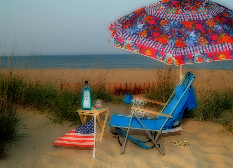 Beach Cooler Photograph  - Beach Cooler Fine Art Print