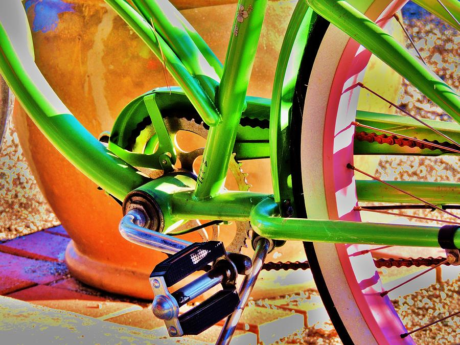 Beach Cruiser Photograph  - Beach Cruiser Fine Art Print