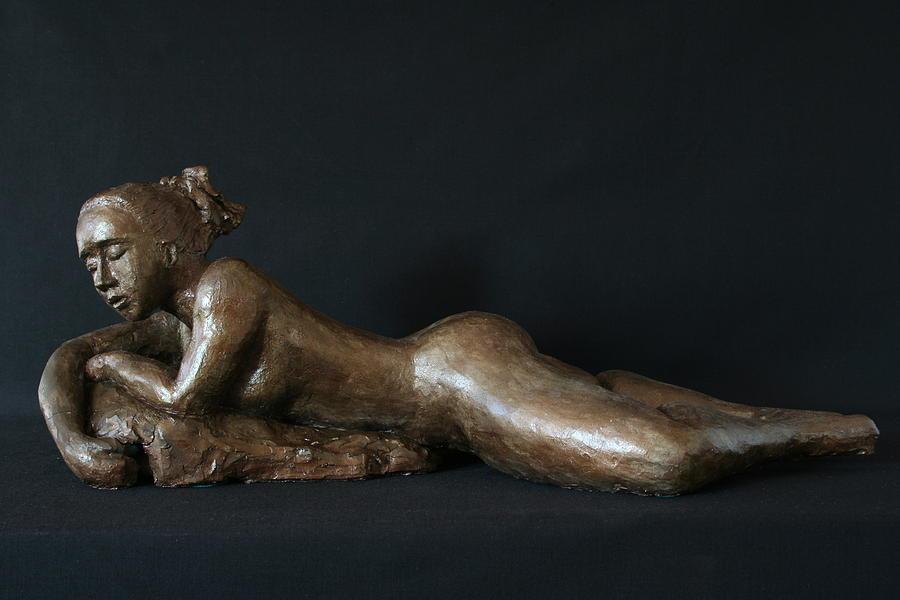 Beach Girl - Profil Sculpture