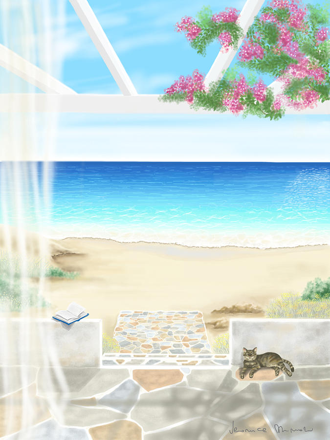 Beach House Painting