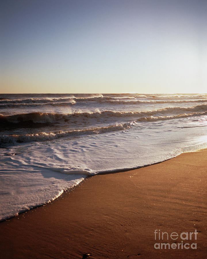 Beach In January Montauk New York Photograph  - Beach In January Montauk New York Fine Art Print