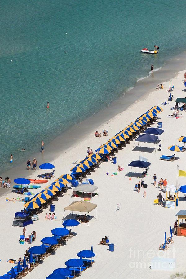 Blue Photograph - Beach Life  by Jennifer E Doll
