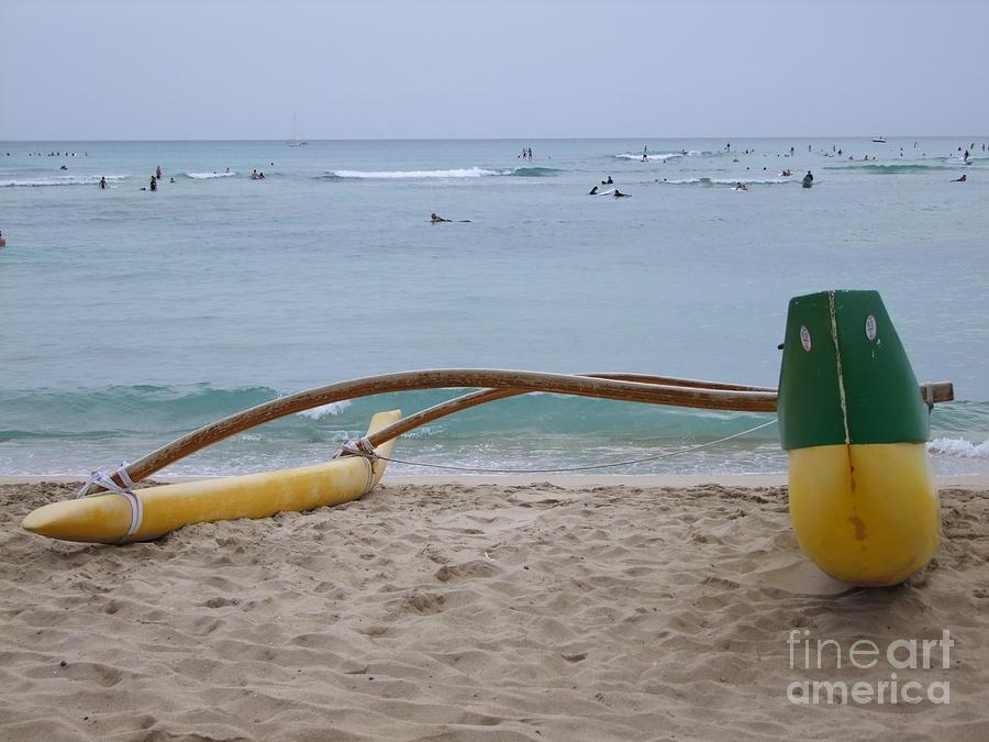 Beach Play Photograph