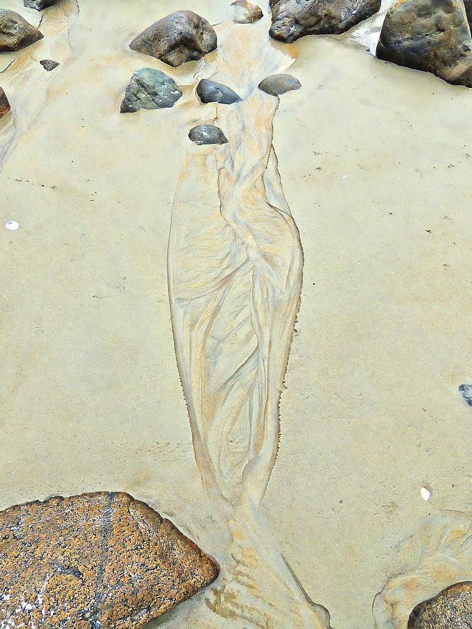 Nature Photograph - Beach Sand 4   by Marcia Lee Jones