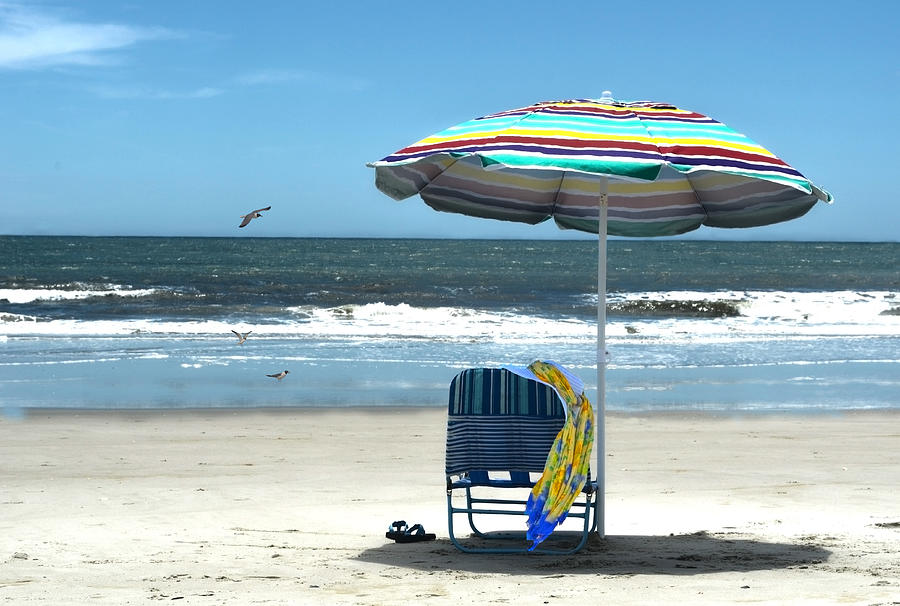 Beach Solitude Photograph  - Beach Solitude Fine Art Print