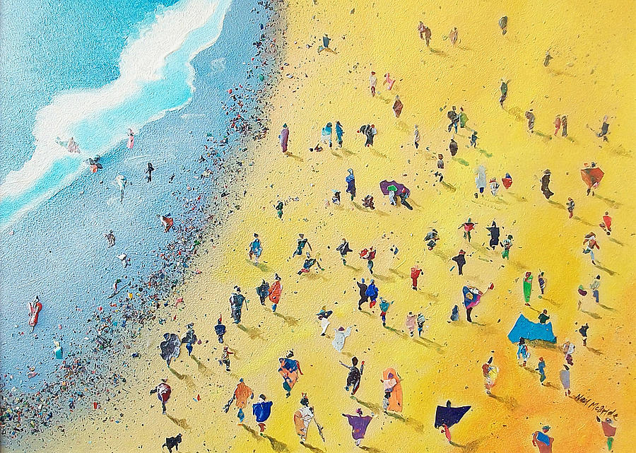 Beachcombing Painting