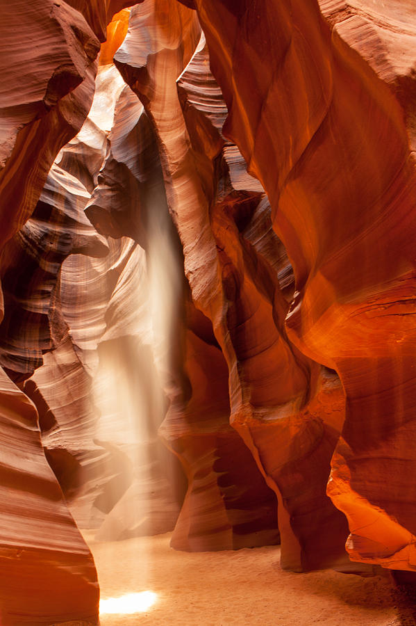 Beam Of Light In Upper Antelope Canyon Photograph