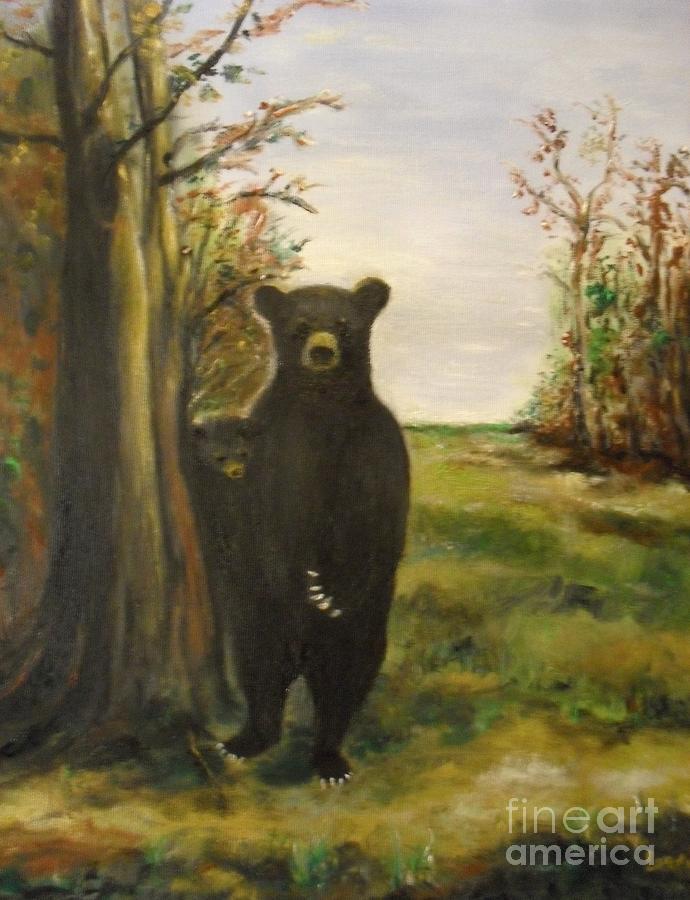Bear Necessity Painting