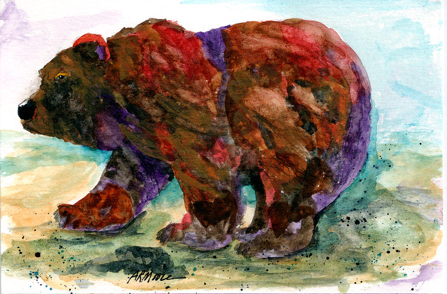 Bearz Painting  - Bearz Fine Art Print