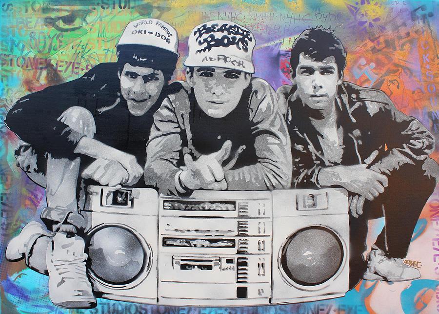 Beastie Boys Painting