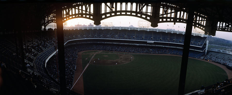 Beatiful View Of Old Yankee Stadium Photograph