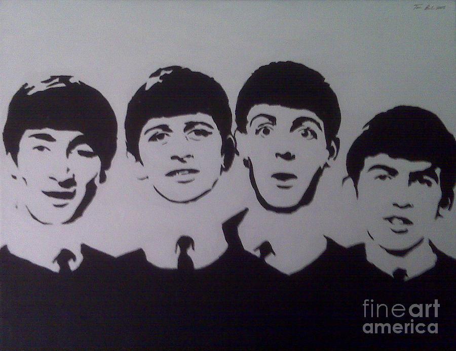 Beatles Painting