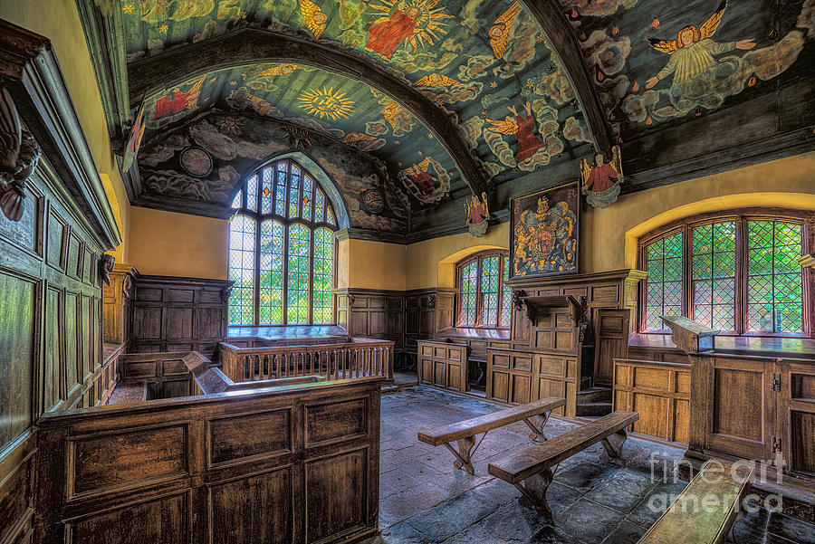 Chapel Photograph - Beautiful 17th Century Chapel by Adrian Evans