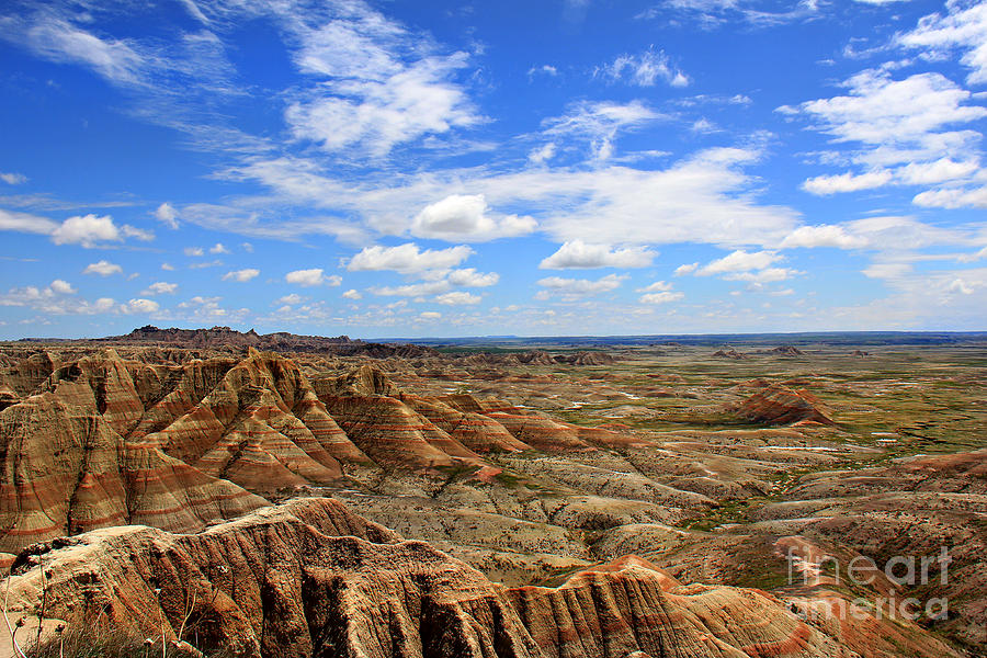 Beautiful Badlands Photograph