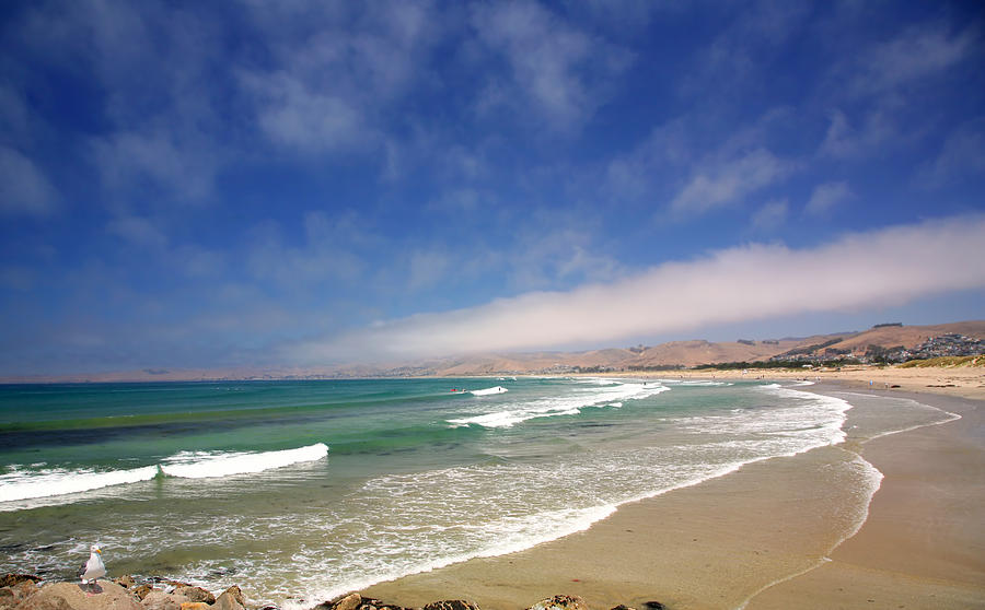 Beautiful Beach Scene Photograph by Mark Ross - photo#11
