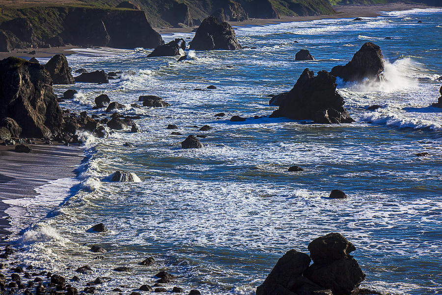 Beautiful California Photograph - Beautiful California Coast by Garry Gay