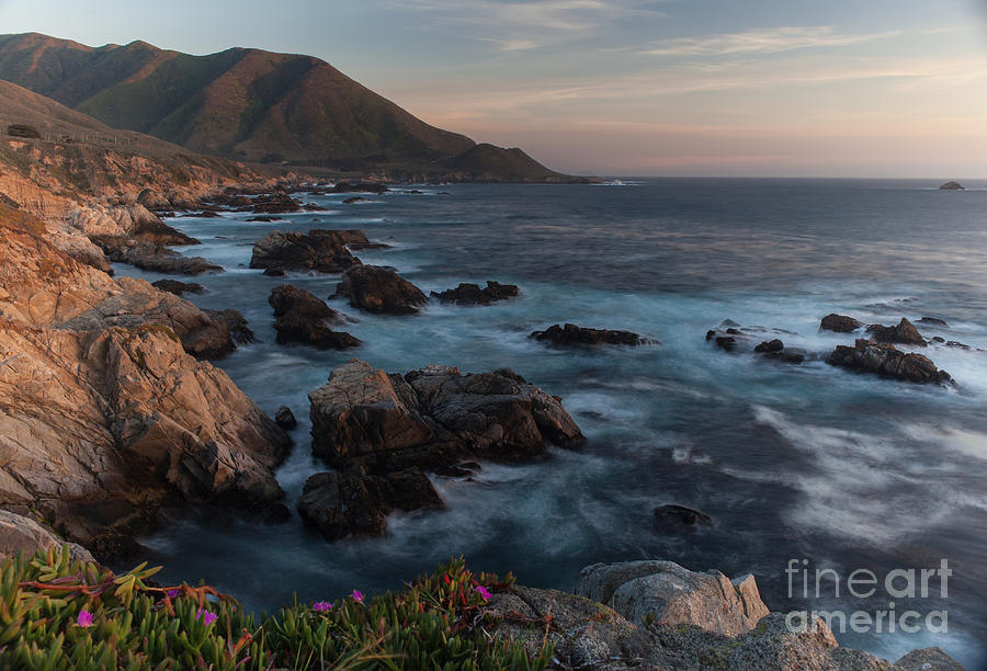 Beautiful California Coast In Spring Photograph