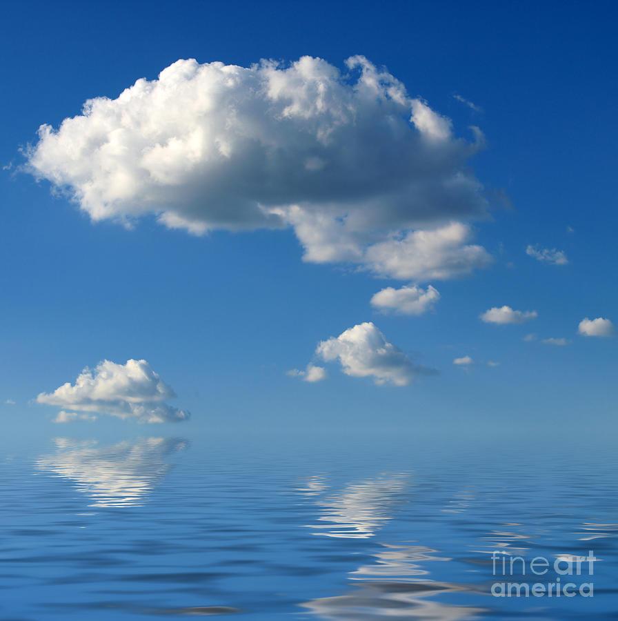 beautiful Clouds Photograph