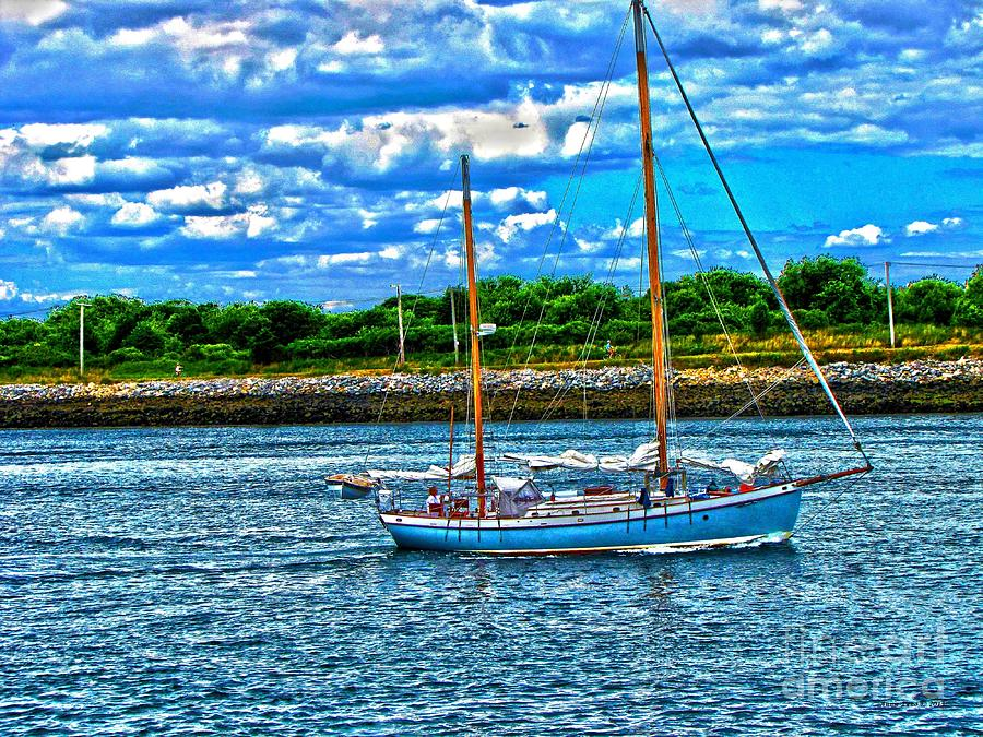 Beautiful Day At Sea Photograph  - Beautiful Day At Sea Fine Art Print