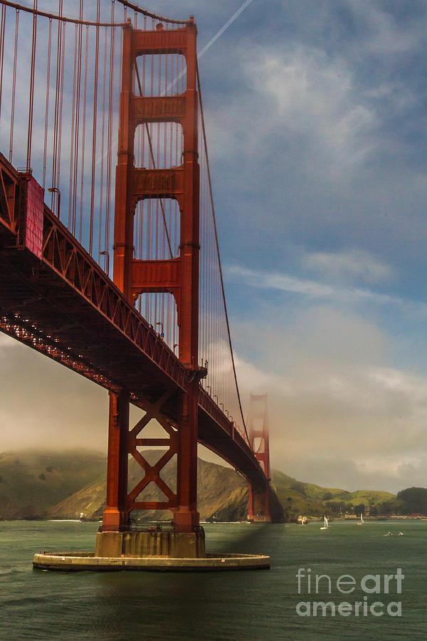 Beautiful Golden Gate Photograph - Beautiful Golden Gate by Mitch Shindelbower