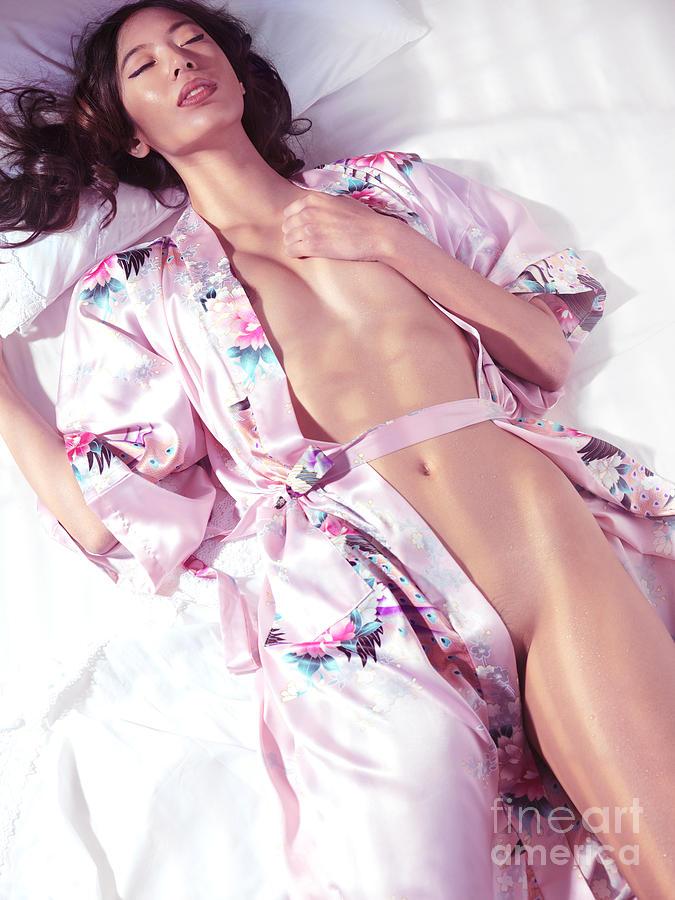 Woman Half Naked 72