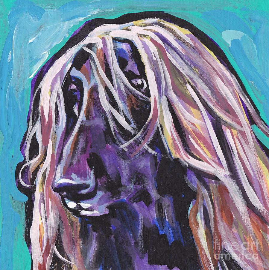 Beautiful Hound Painting