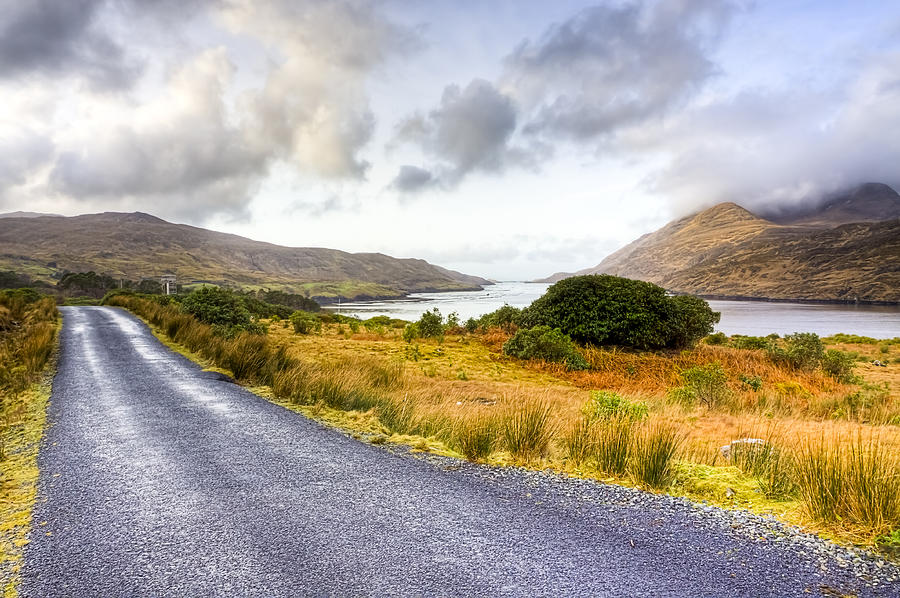 Beautiful Irish Countryside Of County Galway Photograph