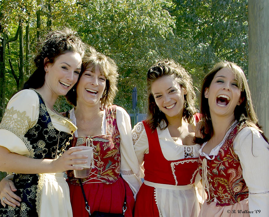 Beautiful Maidens Photograph